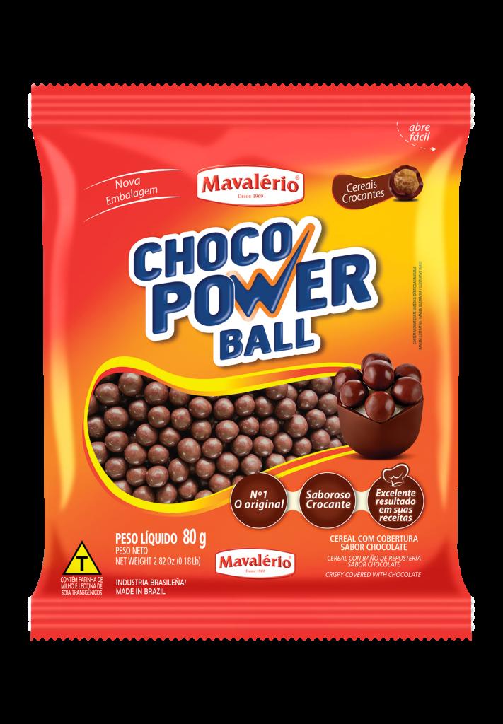 Choco Power Ball Sabor Chocolate Mavalerio